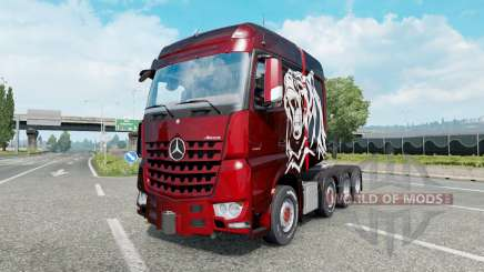 Mercedes-Benz Arocs 4163 SLT 2014 for Euro Truck Simulator 2