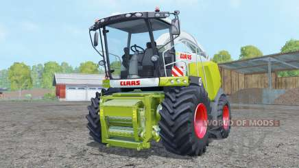Claas Jaguar 980 with cutter for Farming Simulator 2015