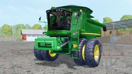 John Deere 9770 STS dual front wheels for Farming Simulator 2015