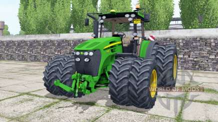 John Deere 7930 double wheels for Farming Simulator 2017