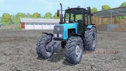MTZ-1221 Belarus tractor dual rear wheels for Farming Simulator 2015