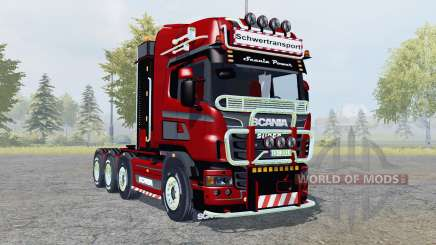 Scania R560 8x8 Topline Heavy Duty for Farming Simulator 2013