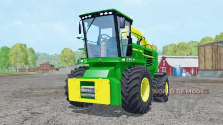 John Deere 7180 with cutter for Farming Simulator 2015