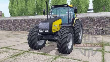 Valmet 6400 wheels selection for Farming Simulator 2017