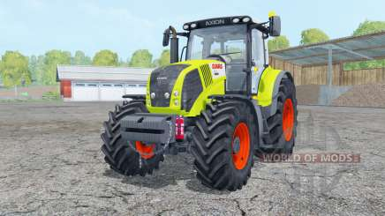 Claas Axion 850 with weight for Farming Simulator 2015