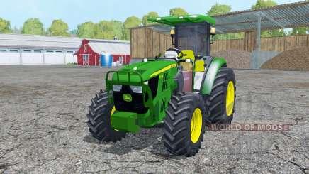 John Deere 5115M loader mounting for Farming Simulator 2015