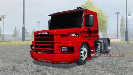 Scania T112HW 4x4 for Farming Simulator 2013