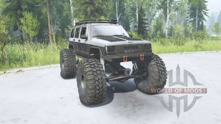 Jeep Cherokee (XJ) 1988 TTC for MudRunner