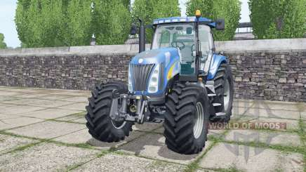 New Holland TG285 Michelin tyres for Farming Simulator 2017