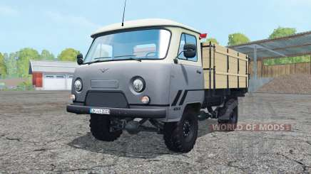UAZ 452Д with pazepam for Farming Simulator 2015
