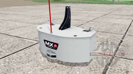 MX Multimass 1200 for Farming Simulator 2017