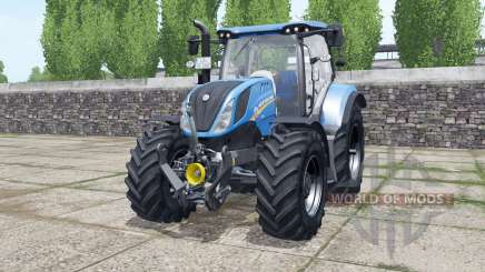 New Holland T6.140 new real sounds for Farming Simulator 2017