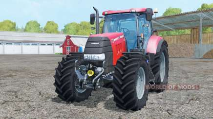Case IH Puma 160 CVX new wheels for Farming Simulator 2015