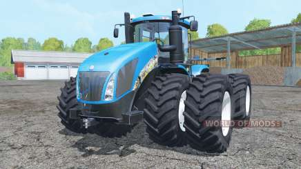 New Holland T9.700 double wheels for Farming Simulator 2015