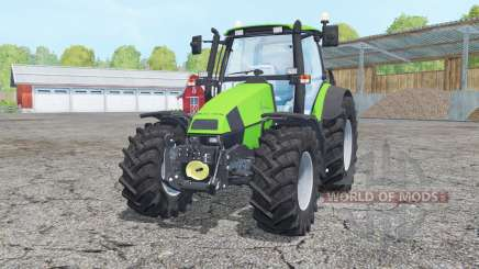 Deutz-Fahr Agrotron 120 Mk3 loader mounting for Farming Simulator 2015