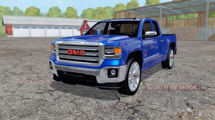 GMC Sierra 1500 Double Cab (GMTK2) 2013 for Farming Simulator 2015