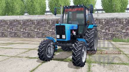 MTZ Belarus 82.1 movable elements for Farming Simulator 2017