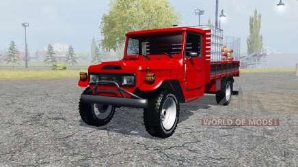 Toyota Bandeirante (BJ55LP) service for Farming Simulator 2013