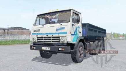 KamAZ 5320 with the trailer NefAZ 8560 for Farming Simulator 2017