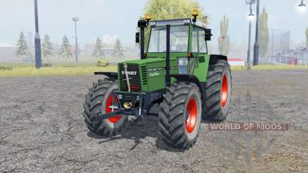 Fendt Favorit 615 LSA Turbomatik double wheels for Farming Simulator 2013