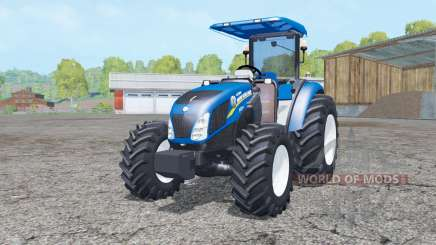 New Holland T4.75 front loader for Farming Simulator 2015