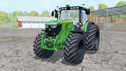 John Deere 6210R front loader for Farming Simulator 2015