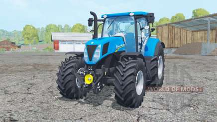 New Holland T7.170 moving elements for Farming Simulator 2015
