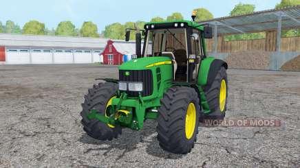 John Deere 6320 2002 for Farming Simulator 2015