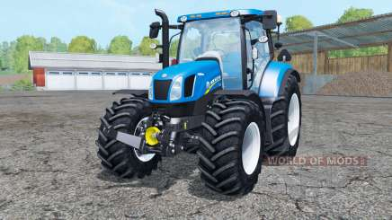 New Holland T6.175 interactive control for Farming Simulator 2015