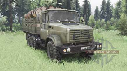 ZIL-4334 6x6 for Spin Tires