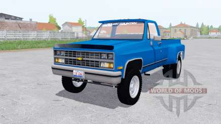 Chevrolet K30 1984 configure for Farming Simulator 2017