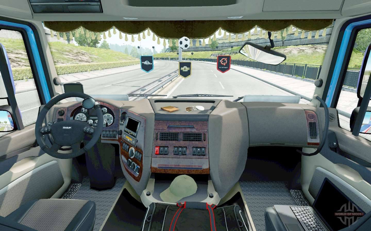 Setting The Seat V2.2 For Euro Truck Simulator 2