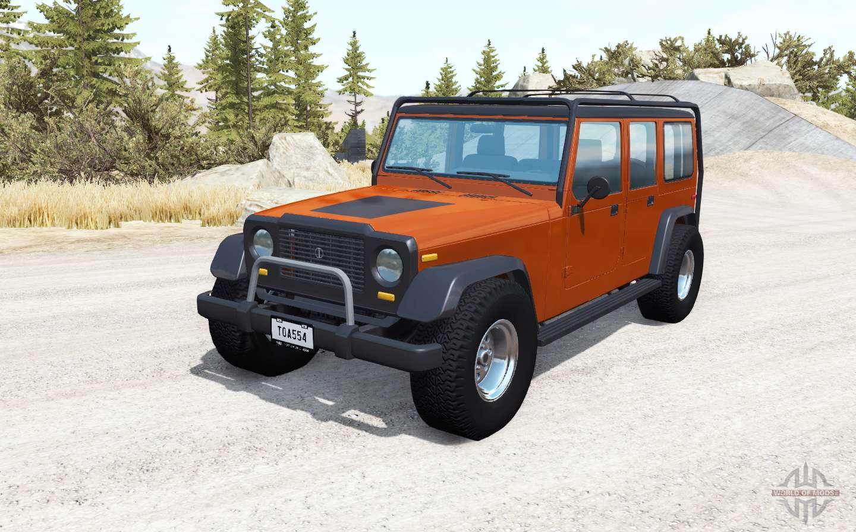 Ibishu Hopper Unlimited V2.0 For BeamNG Drive