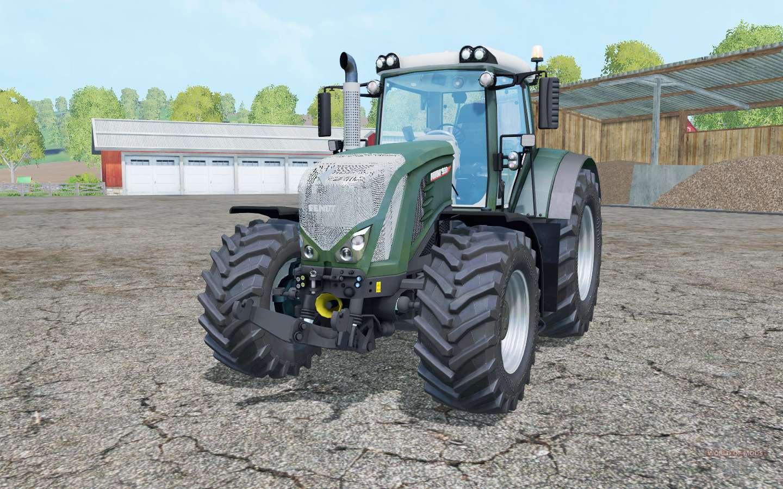 Fendt 933 Vario Dark Lime Green For Farming Simulator 2015