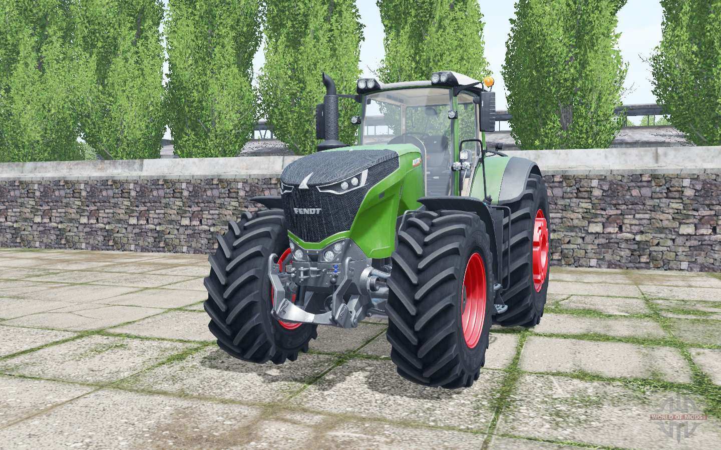Fendt 1038 Vario Animated Element For Farming Simulator 2017