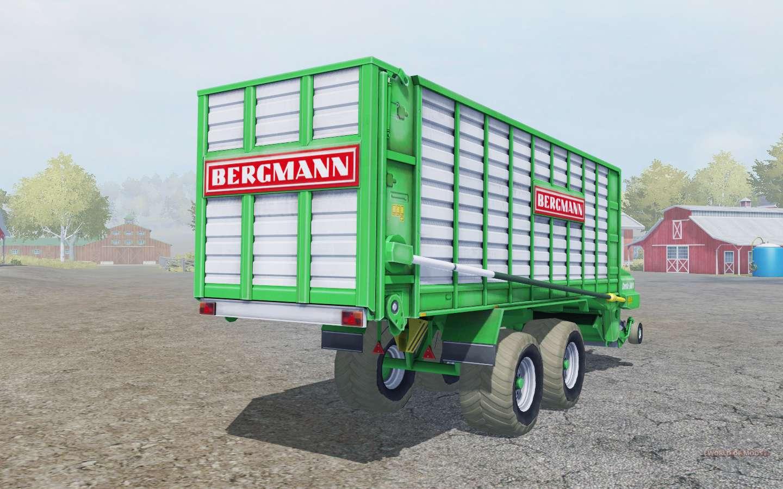 Bergmann Shuttle 900 K Caribbean Green For Farming