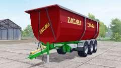 Zaccaria ZAM 200 DP8 Super Plus strong red for Farming Simulator 2017