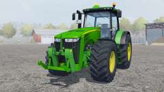 John Deere 8360R islamic green for Farming Simulator 2013