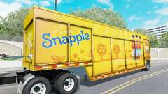 Semi-trailer for transportation of drinks Mickey for American Truck Simulator