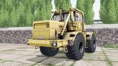 Kirovets K-700A soft orange color for Farming Simulator 2017