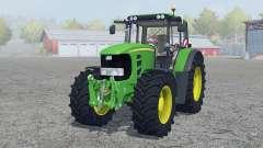 John Deere 7530 Premium vivid malachite for Farming Simulator 2013