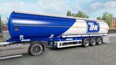 The semitrailer-tank for Euro Truck Simulator 2