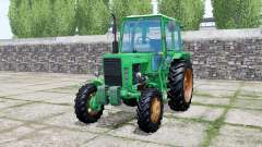 MTZ-82 Belarus Caribbean green color for Farming Simulator 2017