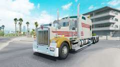Kenworth W900B long grayish yellow for American Truck Simulator