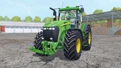 John Deere 7920 vivid malachite for Farming Simulator 2015