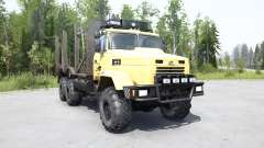 KrAZ 6322 soft yellow color for MudRunner