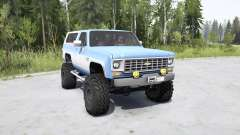 Chevrolet K5 Blazer 1975 for MudRunner