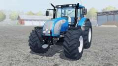 Valtra T182 spanish sky blue for Farming Simulator 2013