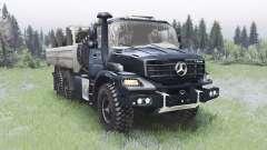 Mercedes-Benz Zetros 2733 A gunmetal for Spin Tires