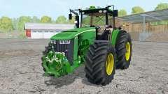 John Deere 8370R pigment green for Farming Simulator 2015
